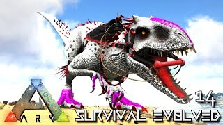 ARK: SURVIVAL EVOLVED - MY NEW ALPHA INDOMINUS REX AT LAST !!! | PRIMAL FEAR ISO CRYSTAL ISLES E14