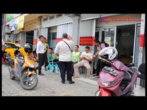 Tak Terima Motor Ditarik Leasing, Debt Colector Ditikam Sajam