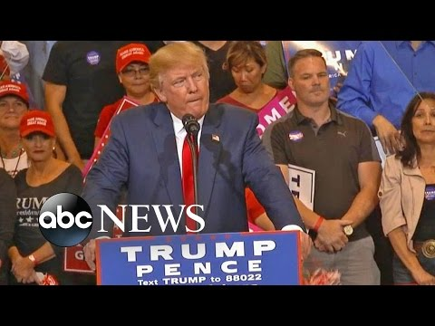 Trump Attacks on Clinton Over Private Email Server