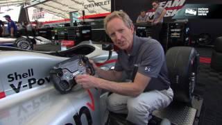INDYCAR 101 with Professor B: Steering Wheel
