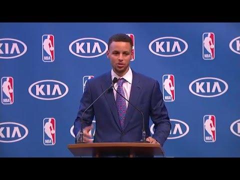 Stephen Curry's MVP Award Full Speech