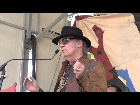 Musician Neil Young Speaks Out Against Keystone XL & Tar Sands Projects