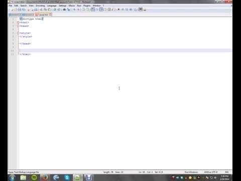 Basic Full Profile Coding (Chatango) - YouTube