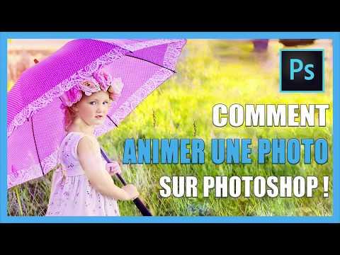 Comment Animer Une Photo Sur Photoshop - Effet De Mouvement Parallaxe - Tutoriel [TUTO-PHOTOS]
