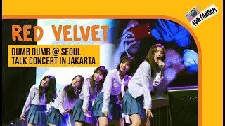 Red Velvet - Dumb Dumb @ Seoul Talk Concert in Jakarta