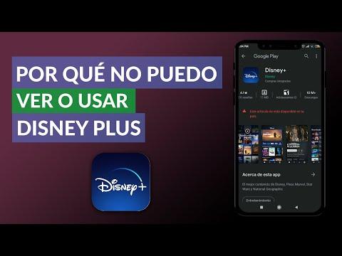 Por qué NO Puedo Ver o Usar Disney Plus – Disney Plus NO Funciona
