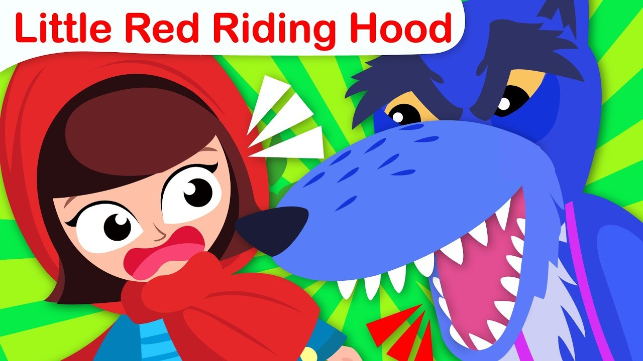 Princess Song Little Red Riding Hood | Animated Stories | Nursery Rhymes by Little Angel