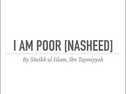 I am Poor┇Ibn Taymiyyah┇Poem  ᴴᴰ