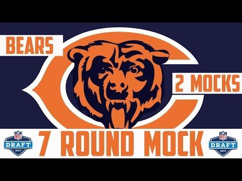 2017 Chicago Bears 7 Round Mock Draft - 2017 NFL Mock Draft 7 Round Bears NFL Mock Draft