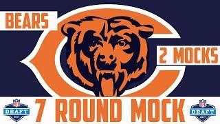 2017 Chicago Bears 7 Round Mock Draft - 2017 NFL Mock Draft 7 Round Bears NFL Mock Draft Free HD Video