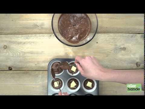 Muffins met smeltende witte chocolade - Allerhande
