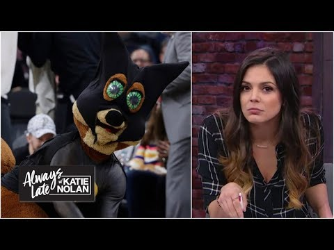 Is the Spurs' bat infestation a conspiracy to help them win games?   Always Late with Katie Nolan