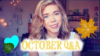 Life Changes // October 2014 Q&A // Makeupkatie95 Thumbnail