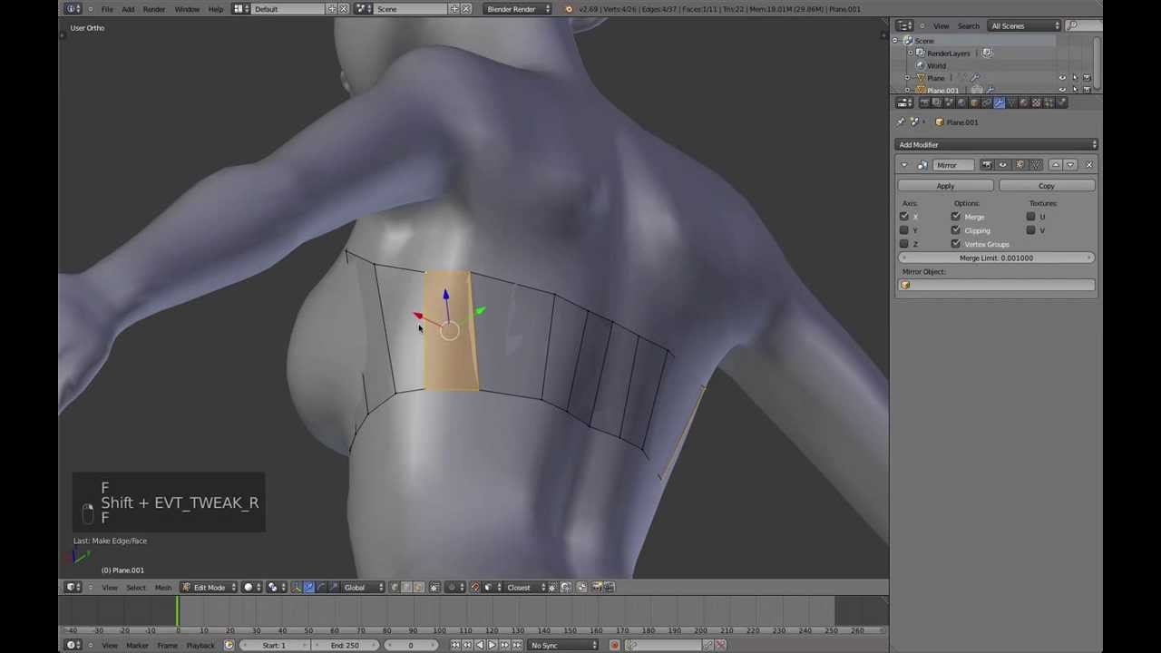 Create animation-ready clothing in blender | 3d artist animation.