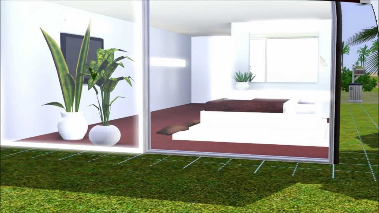 The Sims 3 Modern House Small Lot Minimalism Download In