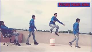 Imaging video | video effect | funny Team AMC | stunt video | alwar ke londe