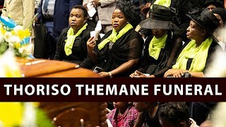 Thorisho Themane's funeral was held on Saturday morning in a filled to capacity Jack Botes hall in Polokwane where police minister Bheki Cele said his only wish is to see Themane's killers face the might of the law.   Click here to subscribe to Eyewitness News: http://bit.ly/EWNSubscribe  Like and follow us on: http://bit.ly/EWNFacebook AND https://twitter.com/ewnupdates  Keep up to date with all your local and international news: http://ewn.co.za/  Video by: Kayleen Morgan