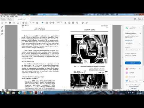 DIESEL ENIGNE MECHANICAL SERVICE MANUAL DIESEL ELECTRIC LOCOMOTIVE GE PART3