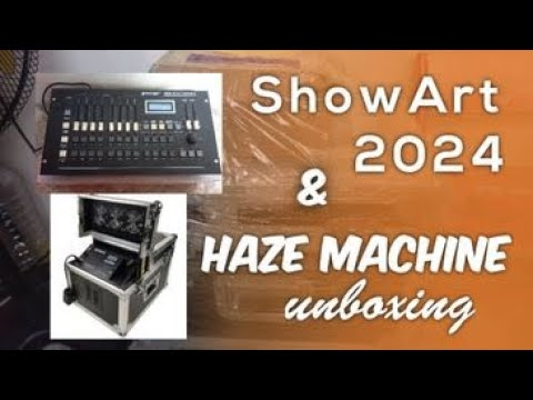 Download Showart DMX 2024 & DJ Star Haze Machine Unboxing
