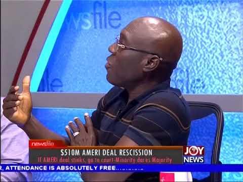 $510M Ameri Deal Rescission - Newsfile on JoyNews (21-10-17)