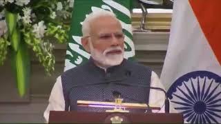 بالفيديو.. لحظة ترحيب رئيس وزراء الهند بولي العهد باللغة العربية - صحيفة صدى الالكترونية
