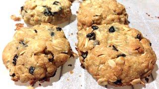 Aussie Style Oatmeal Raisin Cookies