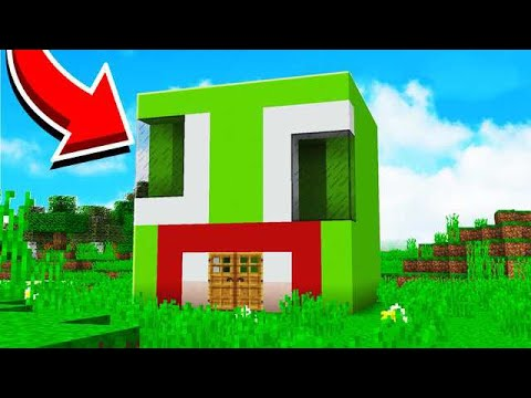 How To Make An Unspeakable House In Minecraft Youtube
