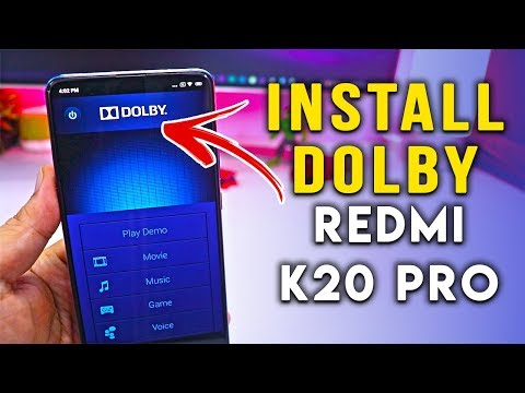 Complete Steps to INSTALL DOLBY on REDMI K20 PRO