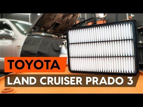 Как заменить воздушный фильтр двигателя на TOYOTA LAND CRUISER PRADO 3 (J120) [ВИДЕОУРОК AUTODOC]