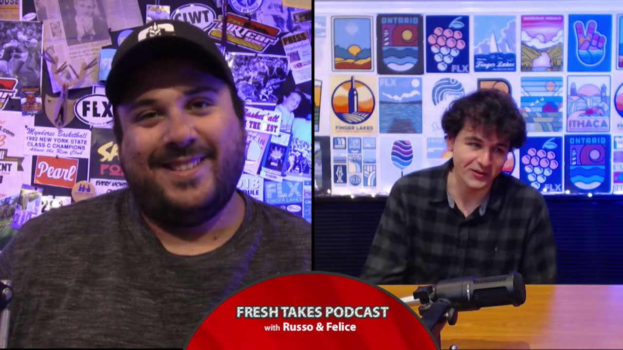FRESH TAKES w/ RUSSO & FELICE: NBA Playoffs & MLB foreign substances (podcast)