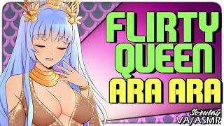 [ASMR] Flirty Queen Approaches You [AraAra] [Confident] [Preview] [Voice Acting] [Italian Accent]