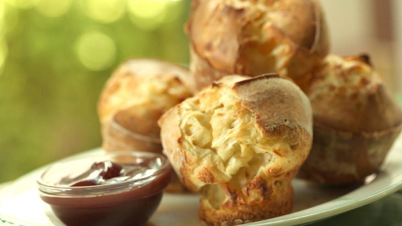Rosemary Parmesan Popovers Recipe   Kin Community