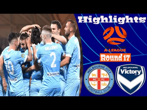 Melbourne City Melbourne Victory Goals And Highlights