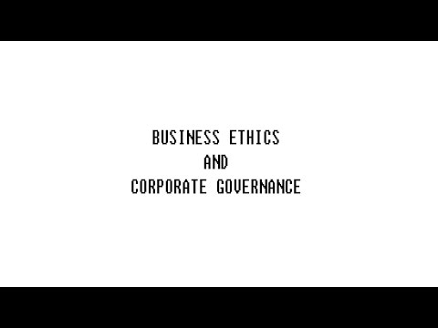 Business Ethics 961464 Finance