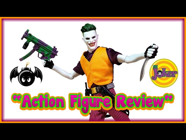 Mezco Toyz One\:12 Collective The Joker action figure review. (Clown Prince of Crime edition)