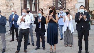 Minuto de silencio para condenar un asesinato machista en Corral-Rubio