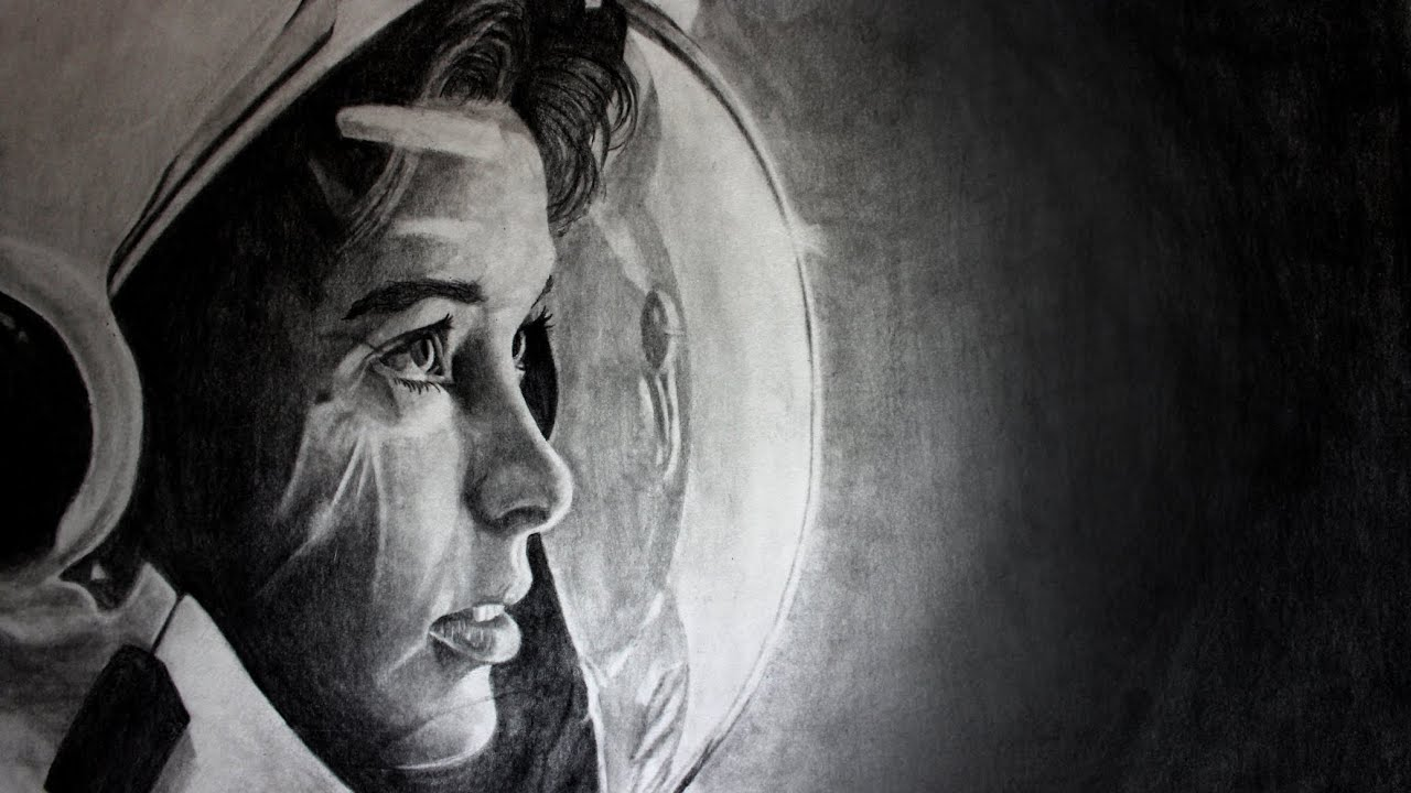 detailed drawings of astronauts - photo #41