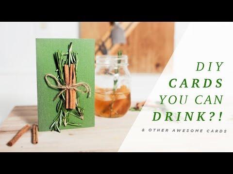 5 UNIQUE DIY HOLIDAY CARDS