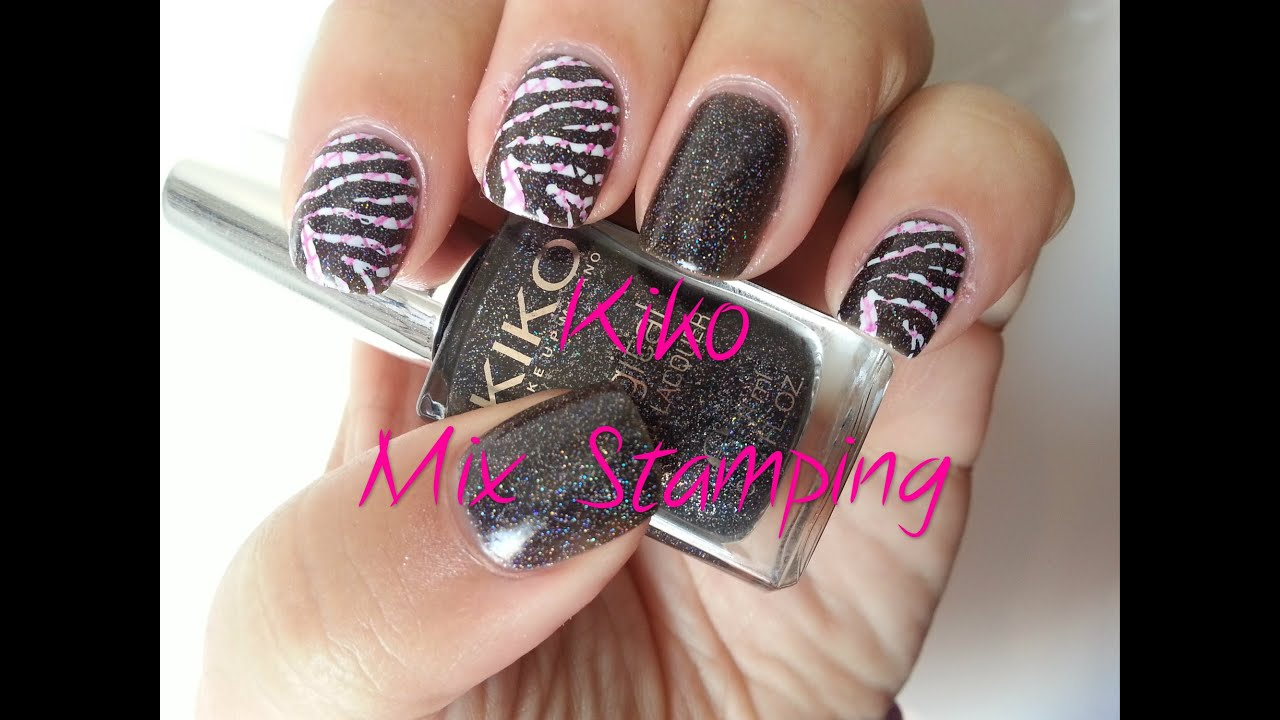 Kiko Mix Stamping Nail Art Facil