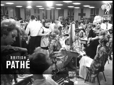 Vidal Sassoon Shows Skills (1967)