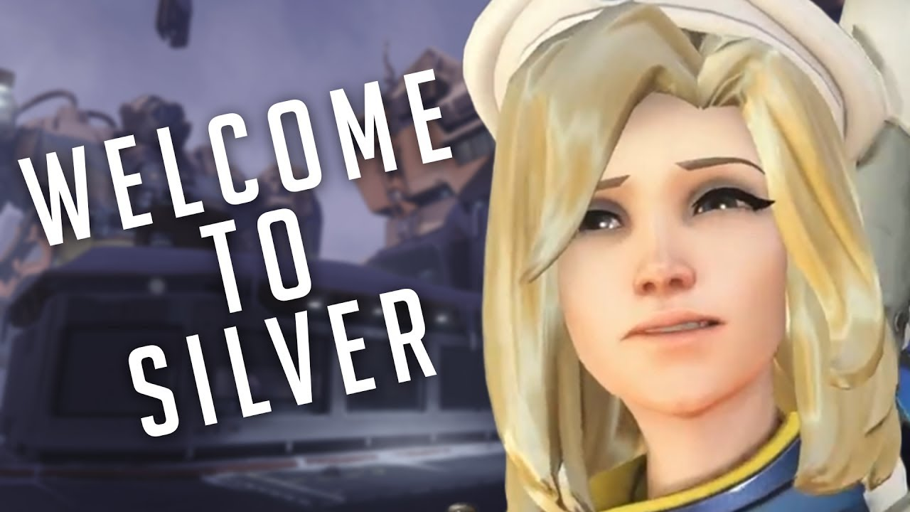 Creepy Overwatch guy | Welcome to silver rank - YouTube