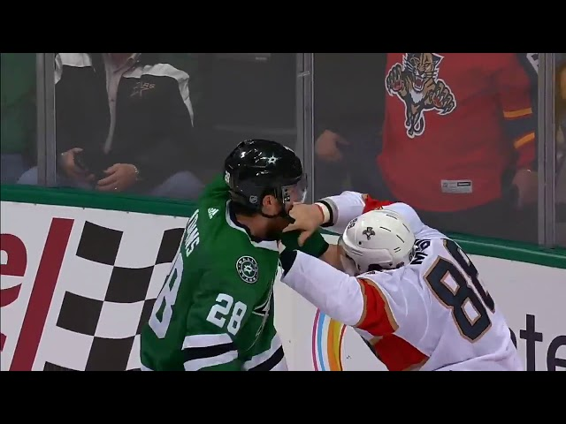 Dallas Stars Vs Florida Panthers | 6 fights 138 penalty minutes | 23 Jan 2018