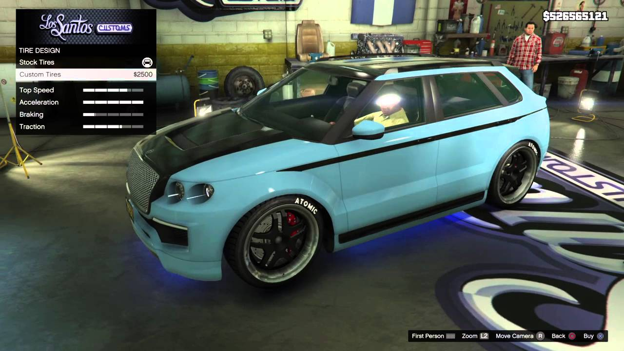 GTA V: Enus Huntley S Customization - YouTube