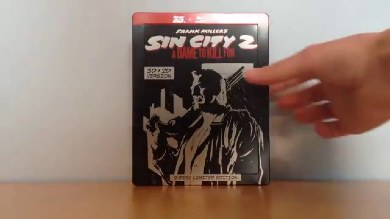 Sin City 2 Bluray