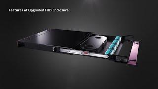 Upgrade 1U Rack Mount FHD Fiber Behuizing | FS