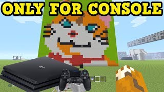CREATIVE FEATURES ONLY On Minecraft PS4 / PS3 / Xbox 360