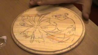 Basics And Tools Of Pyrography (how To Copy A Drawing To Wood) Part 2
