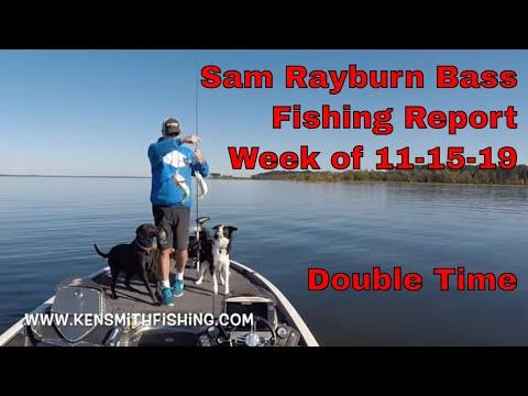 Sam Rayburn Bass Fishing Report November 14 2019