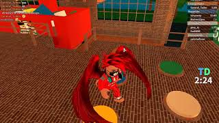 being a commass delivery man from ena pizzeria in roblox part 2