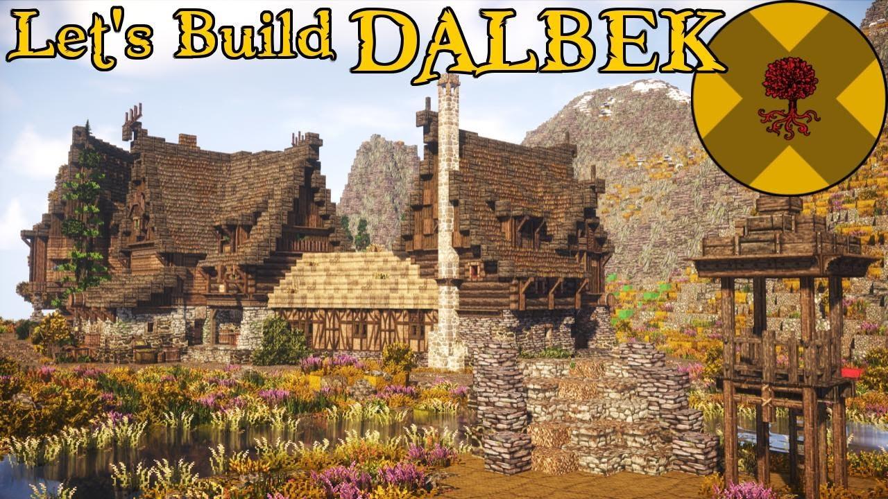 New Nordic Village | Dalbek | Part 1 - Nordic Minecraft Town